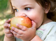 Babies weaned on home-cooked fruit and veg more likely to eat ?5 a day? as children