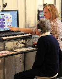 Helping deaf people to enjoy music again