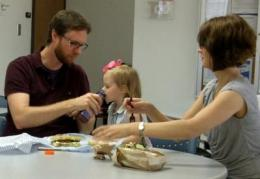 Children eschew the fat if dads aren't lenient