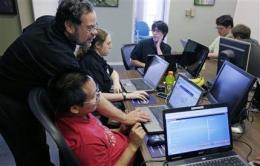 Company hires adults with autism to test software (AP)