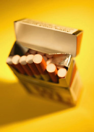 Plain cigarette packets could help stop people taking up smoking