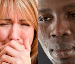 Men have a stronger reaction to seeing other men's emotions compared with women's