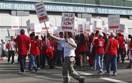 Nurses at dozens of Calif. hospitals set to strike (AP)