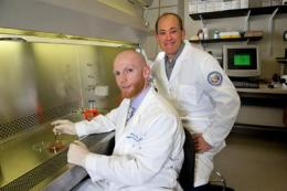 Researchers work with platelet-rich plasma to heal chronic wounds in veterans