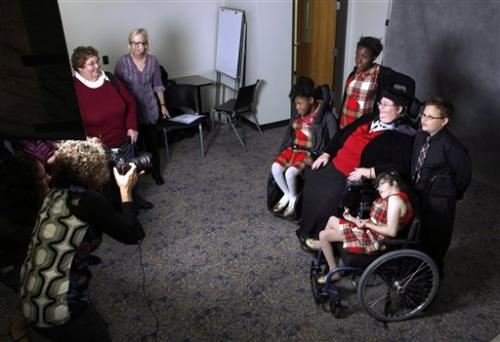 Disabled parents face bias, loss of kids: report