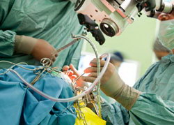 High-tech, remote-controlled camera for neurosurgery