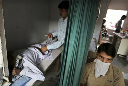 India wages hi-tech war on ancient TB scourge