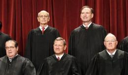 4 GOP-appointed justices control health law's fate (AP)
