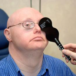Adults with learning disabilities at greater risk of sight problems