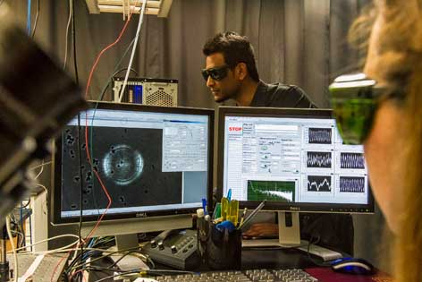 A laser focus on cell research