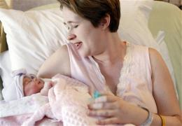 Baby bust continues: US births down for 4th year
