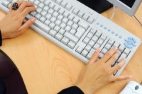 Clean hands and keyboards cut health risks