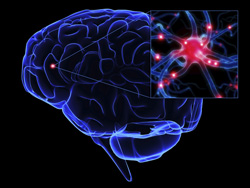 Control of brain waves from the brain surface