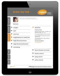 Free iPad app offers personalized advice for healthy living