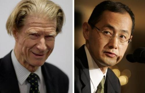 Gurdon (left)and Yamanaka won the world's paramount award in medicine for induced pluripotent stem cells (iPSCs)