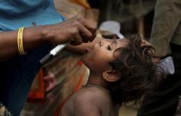 India marks milestone in fight against polio (AP)