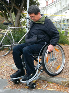 Innovative, off-road wheelchairs hit the US market