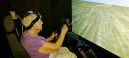 Mid-lane driving helps older adults stay safe