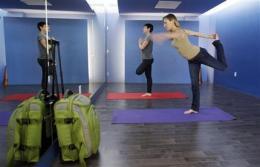 Namaste, travelers! SFO opens airport yoga room (AP)