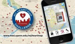 Penn Medicine contest maps 1,400 lifesaving AEDs via crowdsourcing contest fueled by smart phones