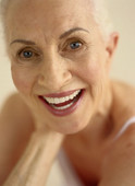 Plastic surgery gives younger appearance to aging face