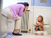 Potty-training method won't affect tot's health: study