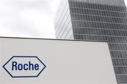 Roche profits drop on one-off costs