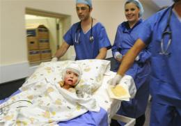 South Africa burn survivor gets cloned skin grafts