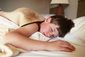 Study: kids who sleep in parents' bed less likely to be overweight