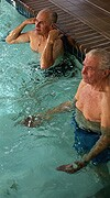 Swimming improves vascular function, BP in older adults