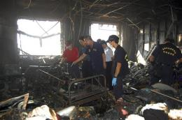 Taiwan prosecutor: Cancer patient set deadly fire