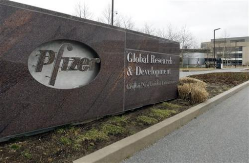 Pfizer Q1 profit up, but drugmaker cuts outlook