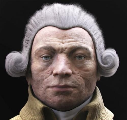Robespierre gets 3D makeover, possible diagnosis
