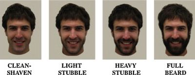 Study finds men most attractive with heavy-stubble
