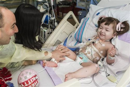 2-year-old girl gets windpipe made from stem cells