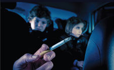 New research shows children need protection from smoking in cars