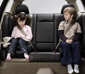 Booster seats not safer than booster cushions for older children