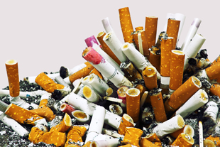 Cigarette relighting tied to tough economy