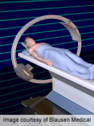CT radiation risk less than risk of examination indicator