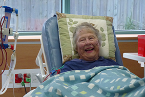 Dialysis is no laughing matter; however researchers are now asking if it should be