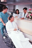 Discharge destination alters rehospitalization rates