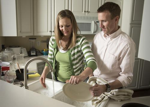 Do chores together for better relationship