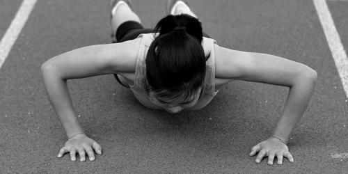 Female athletes overcome adversity