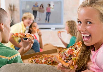 Food commercials excite teen brains