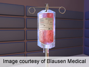 In 2010, blood transfusion most frequent hospital procedure
