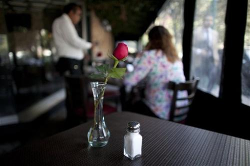 Mexico City tries to get salt shakers off tables