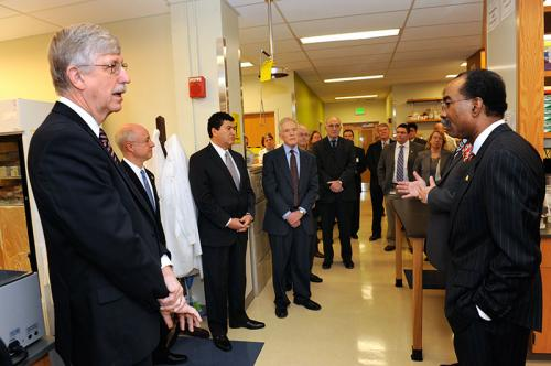 NIH director warns that US research funding is falling behind, calls for new focus on innovation