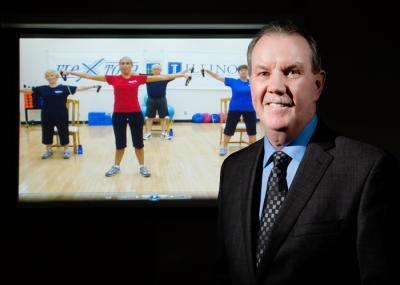 Older adults benefit from home-based DVD exercise program