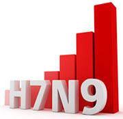 Radiographic findings mirror clinical severity in H7N9 flu