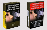 Removing branding from cigarette packets stubs out their appeal
